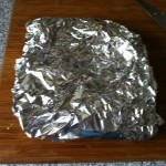 BBQ Veg wrapped in foil