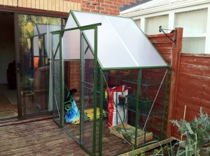 Fully assembled greenhouse