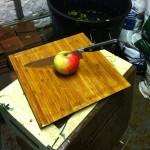 The last apple!