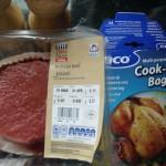 Deli beef ingredients